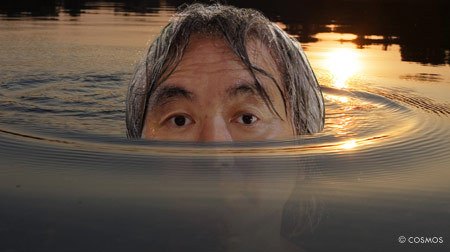 Michio Kaku from the cover of COSMOS Magazine