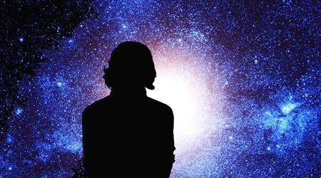 Michio Kaku contemplates the cosmos